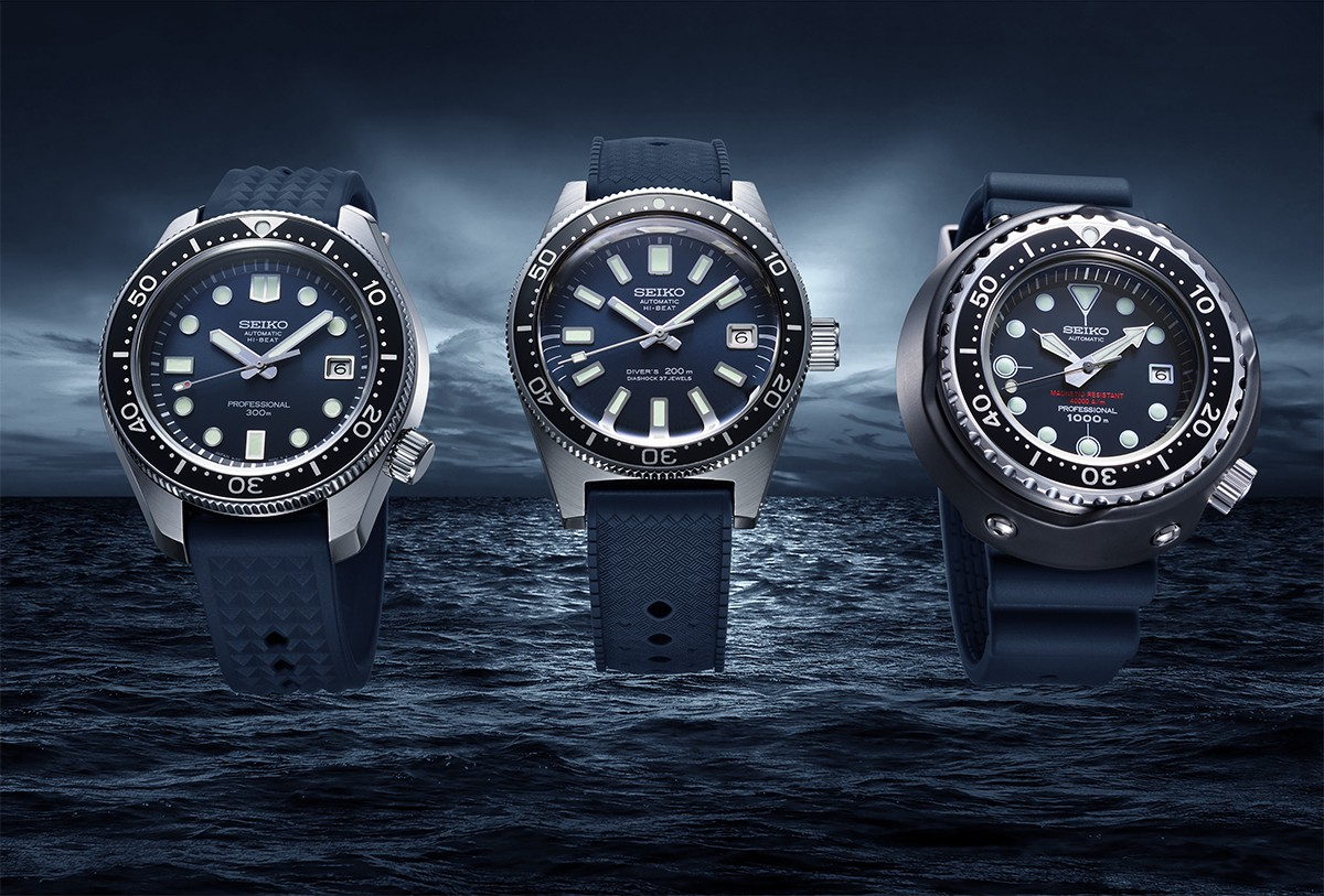 Celebrating 55 years of Seiko diver's watches, three legends are re-born in  Prospex. | News | Seiko Watch Corporation