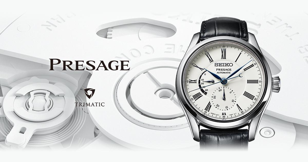 Presage | Brands | Seiko Watch Corporation