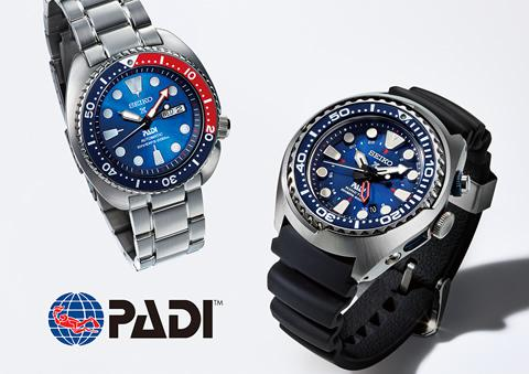 Seiko announces a partnership with PADI ebcb7b6b62