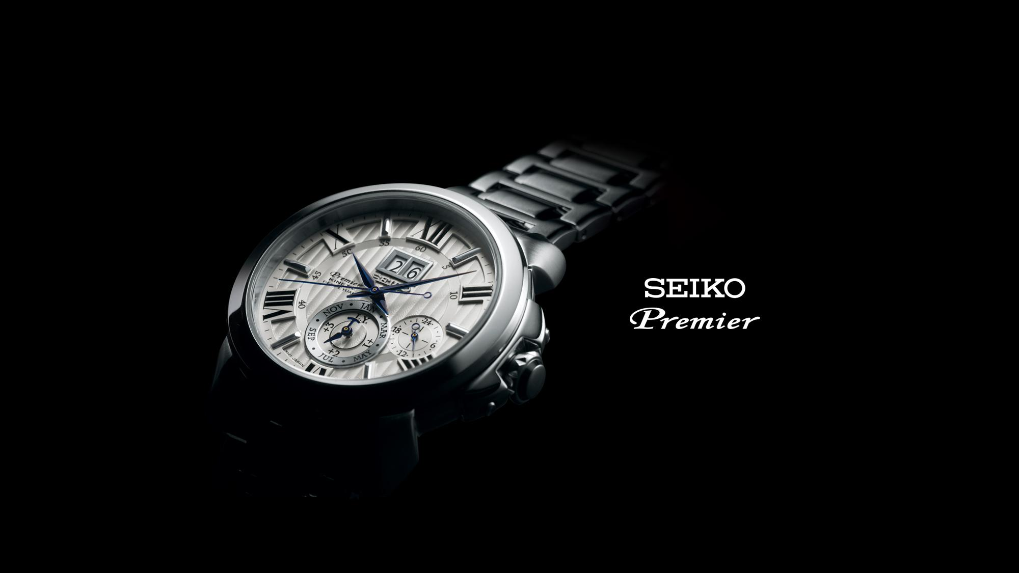 The Premier collection offers refined elegance in dress watches for both  men and women. Classic and modern design themes combine in harmony with  Seiko s ... caa82db0f0