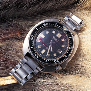 Photo of the watch used by Naomi Uemura