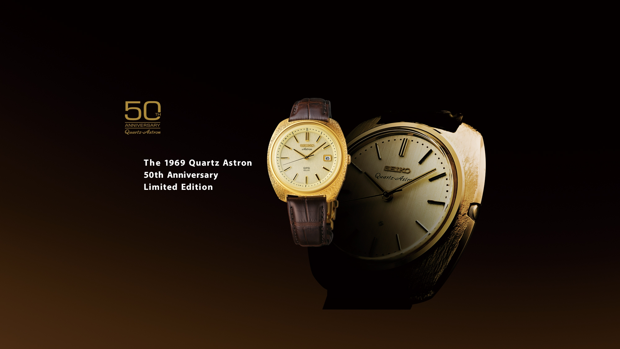 50th Anniversary Quartz Astron. The 1969 Quartz Astron 50th Anniversary Limited Edition