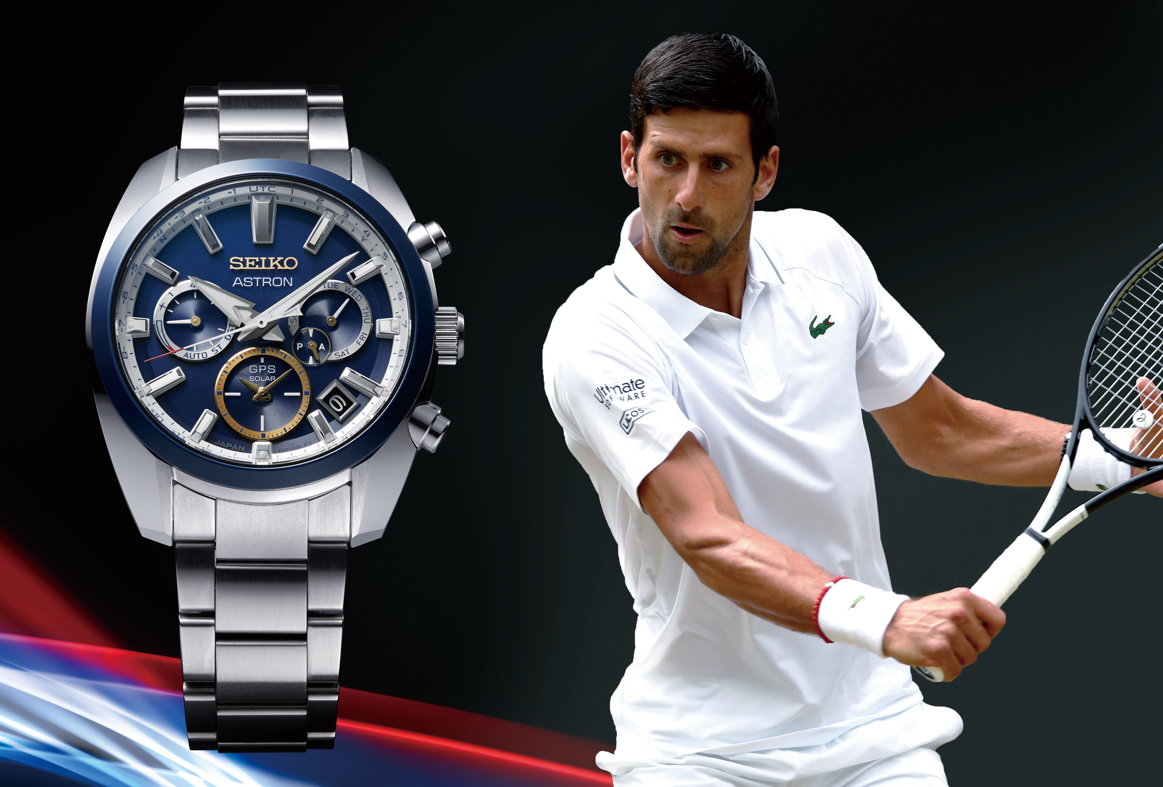 A New Astron Gps Solar Watch Flies The Flag For Novak Djokovic News Seiko Watch Corporation
